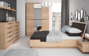 Powrót meblościanki. Jak w nowoczesny sposób zagospodarować przestrzeń w sypialni?